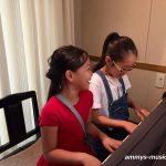 幕張ベイタウンのピアノ教室はお友だちとますます仲良くなります