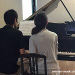 ご夫婦のドラマが生まれたピアノ連弾発表会