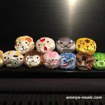 幕張ベイタウンのピアノレッスンはお子さんが喜ぶ可愛いグッズを使っています