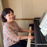大人のレッスンはピアノも歌もご自分のペースでお好みに合わせて楽しめます