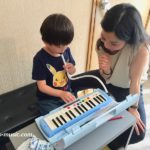 夏休みの鍵盤ハーモニカレッスンで9月からの音楽の授業が超楽しい