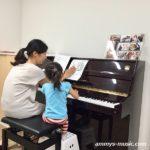3歳児でも音楽を楽しみながらピアノが上達していきます