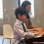 男子率高し!ピアノ男子の個性が花開く幕張ベイタウン教室のおたのしみ会