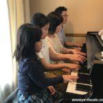 毎年皆さんが家族でピアノ連弾を楽しんでくださっていてとても嬉しいです