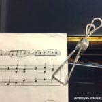野外ライブで大活躍!楽譜を留めるクリップ どんなの使ってますか?