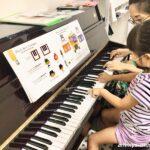 大人気の『英語でピアノ』レッスンがベイタウン教室水曜日に開講!