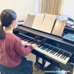 「ピアノを弾いていると頭がスッキリします」 中学生の生徒さんは勉強もピアノもがんばります