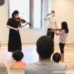 小さなヴァイオリニストがいっぱい誕生したプレ体験会