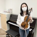 夏のヴァイオリン60分ワンレッスン 現役ヴァイオリニストのアドバイスを受けてみませんか?